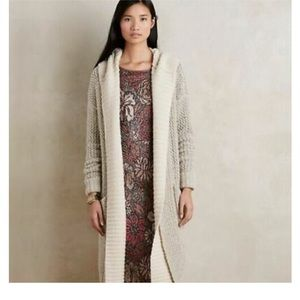 Anthropologie hooded sweater